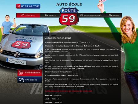 Auto école pas cher à Jeumont - Auto Ecole...