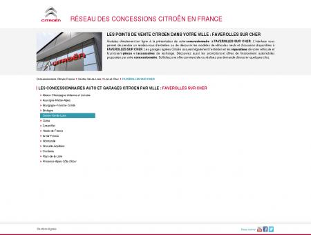 Concessionnaires auto & garages FAVEROLLES...
