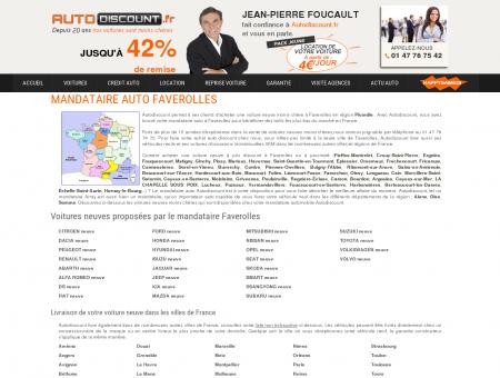 Mandataire auto Faverolles (Picardie), acheter...