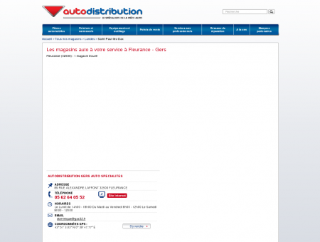 Les magasins auto à Fleurance (32500) - Gers...