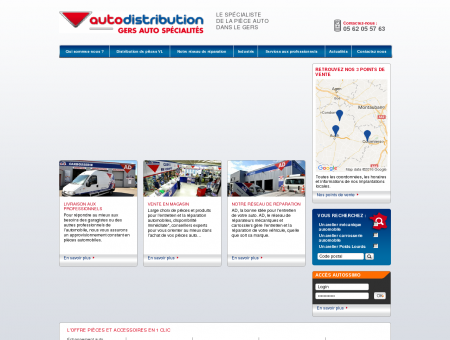 autodistribution GERS AUTO SPECIALITES