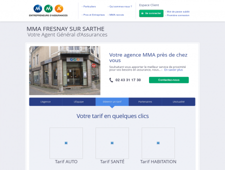 Assurances MMA - FRESNAY SUR SARTHE -...