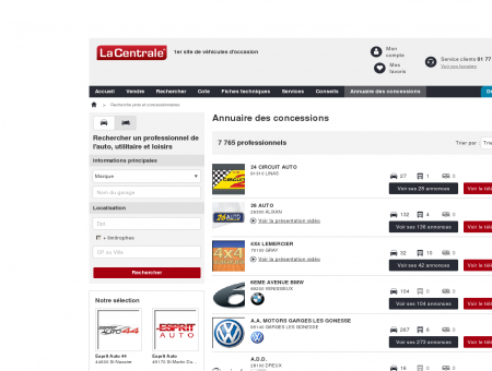 AGENCE AUTOMOBILIERE : Voiture occasion...