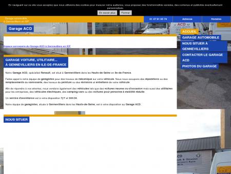 Garage ACD à Gennevilliers - Réparation...