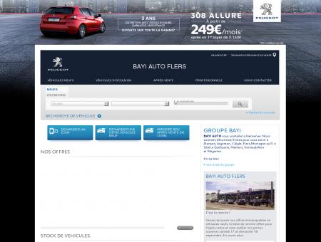 BAYI AUTO FLERS, Votre point de vente Peugeot
