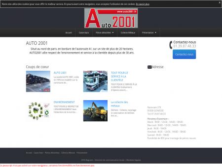 AUTO2001 vente de pièces auto neuves et...