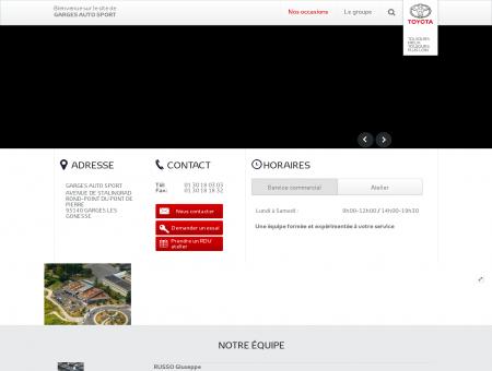 GARGES AUTO SPORT - Concession Toyota -...