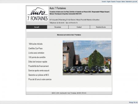 Auto 7 Fontaines