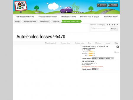 Auto-école FOSSES (95470) :: Avis et...