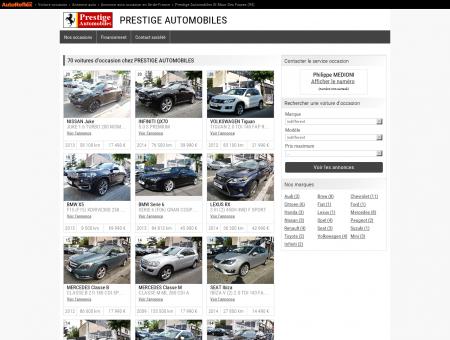 PRESTIGE AUTOMOBILES - ST MAUR DES...