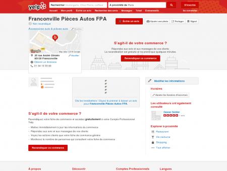 Franconville Pièces Autos FPA - Accessoires...