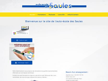 Accueil - Auto-école des Saules