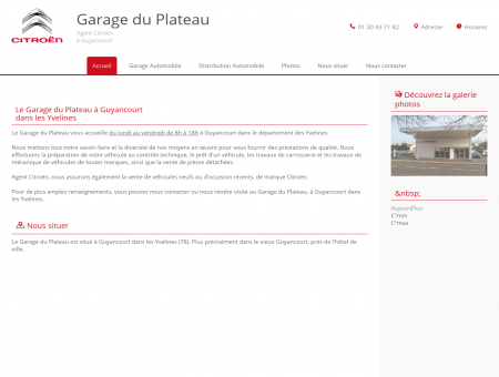 Garage automobile - Guyancourt