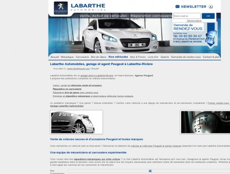 Garage concession Peugeot Labarthe Rivière -...