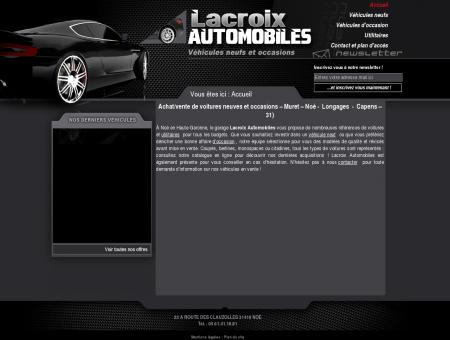 Lacroix Automobiles : vente de voitures neuf et...