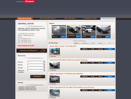 CENTRAL AUTOS - Voitures d'occasion à...