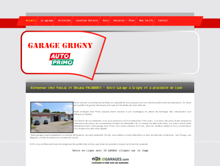 GARAGE GRIGNY AUTO PRIMO, Garage...