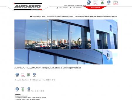 AUTO-EXPO HAZEBROUCK Volkswagen, Audi,...