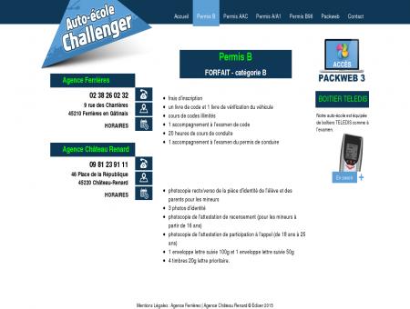 Permis b - Auto-école Challenger