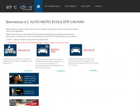 Bienvenue à L' AUTO MOTO ÉCOLE EFR...