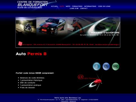 Auto - Centre de formation Blanquefort école...