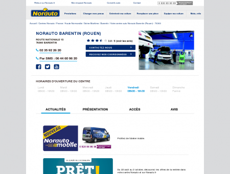 Norauto Barentin (Rouen) - Garage...