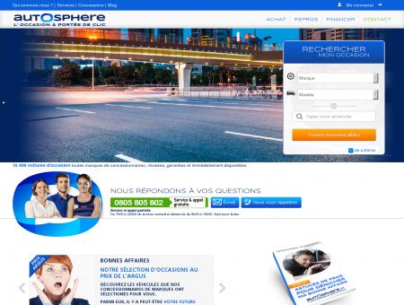 Autosphère Occasion | AutoSphere.fr