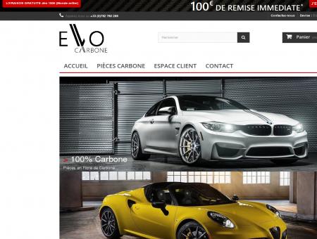 Evo Carbone | Evocarbone.com - Pièces Auto...