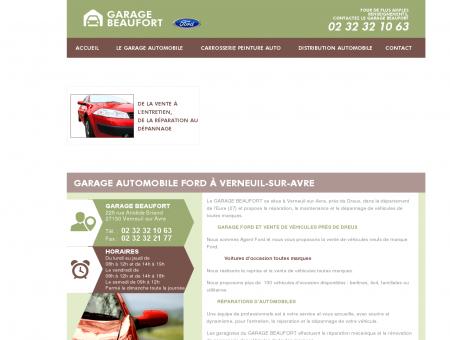 Garage automobile Ford à Verneuil-sur-Avre