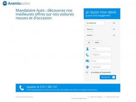 Mandataire Voitures N°1 | Aramisauto.com