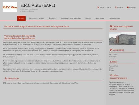 Accueil - Électricité automobile - E.R.C. Auto -...