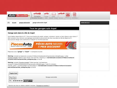 garage auto Aspet departements 31 en region...