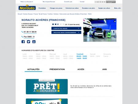 Norauto Achères (Franchise) - Garage...