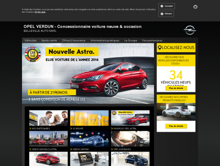 Opel Verdun, Belleville Auto SARL