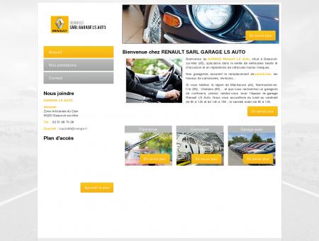 Garage auto à Beauvoir-sur-Mer - GARAGE LS...