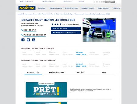 Norauto Saint Martin les Boulogne - Centres...
