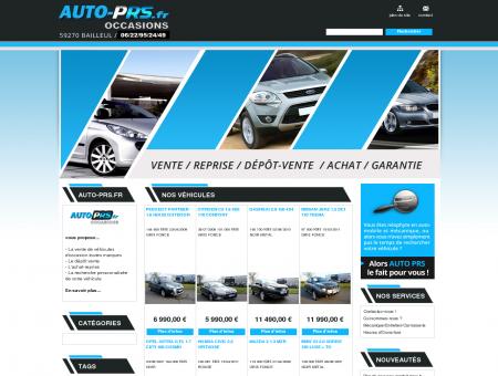 Auto PRS - Auto PRS, vente et recherche de...