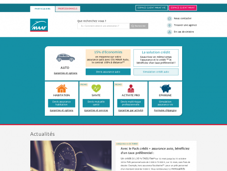 Prix Assurance Auto | Assurance-Auto.maaf.fr