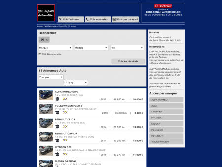 DARTAGNAN AUTOMOBILES - 65320...