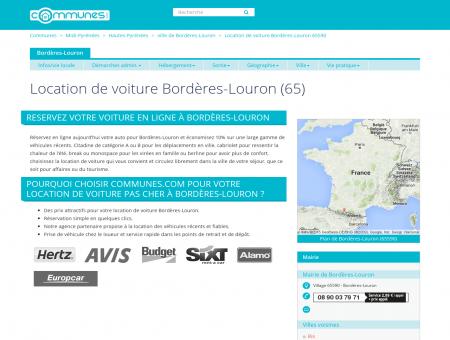 Location de voiture à Bordères-Louron,...