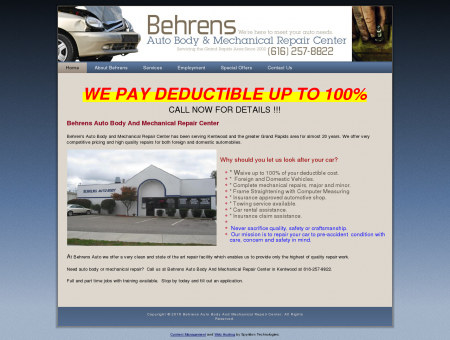 Behren's Auto