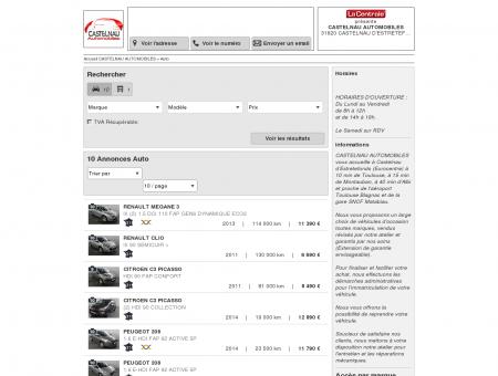 CASTELNAU AUTOMOBILES : Voiture occasion...