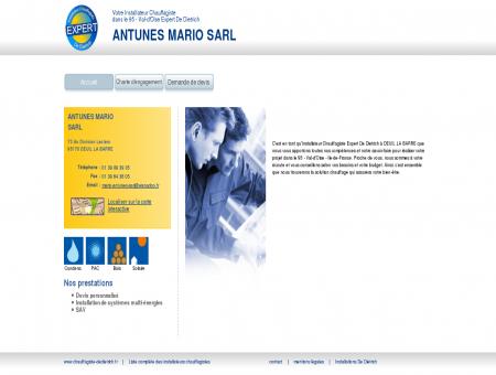 ANTUNES MARIO SARL | Installateur...