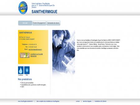 SANITHERMIQUE | Installateur chauffagiste...