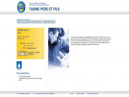 TAISNE PERE ET FILS | Installateur chauffagiste...
