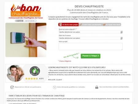 Devis Chauffagistes | lebonchauffagiste.pro