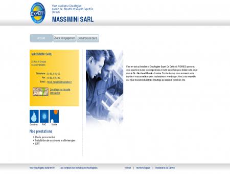 MASSIMINI SARL | Installateur chauffagiste...