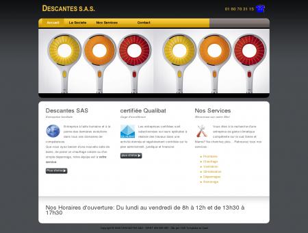 DESCANTES SAS - Votre plombier chauffagiste...