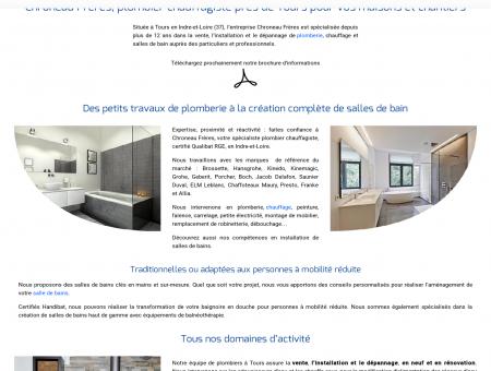 Chroneau Frères : Plombier chauffagiste,...