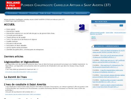 Plombier Chauffagiste Carreleur Artisan à Saint...